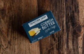 Cornish trewithen salted butter.