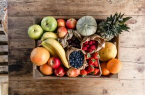 seasonal fruit box delivered straitght to your door in penryn cornwall
