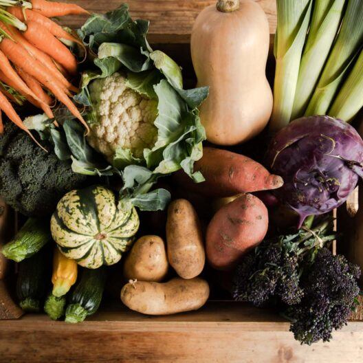 Seasonal vegetables delivered straight to your door in cornwall