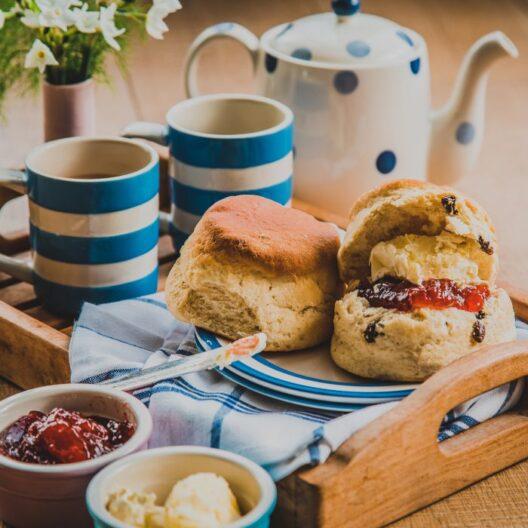 Bake tom's Cornish Cream Tea