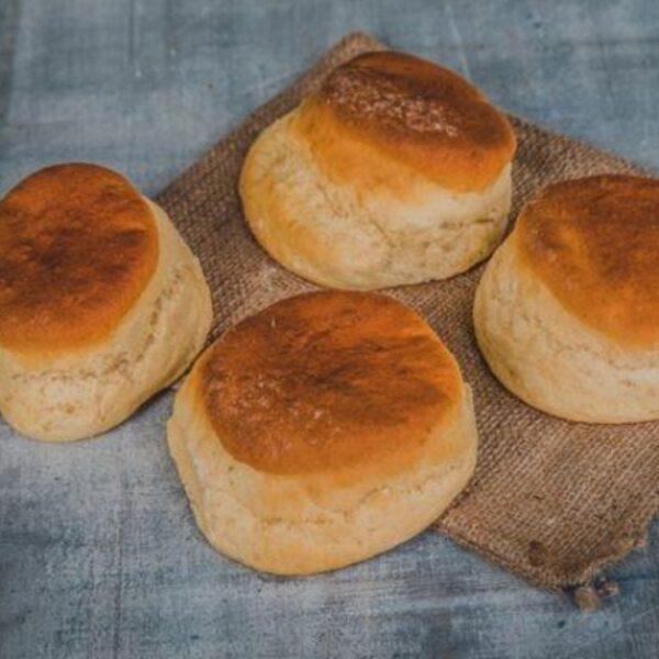 Baker toms plain scones pack of 4