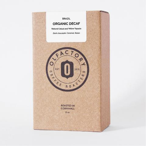 olfactory decaf coffee
