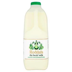 Roddas Semi skimmed milk - 2 litre