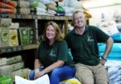 Simon and Emma Bailey- Founder of the Baileys Country store