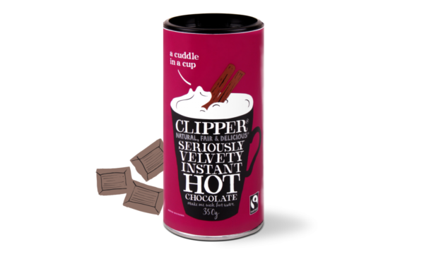 Clipper velvety hot chocolate - 350g