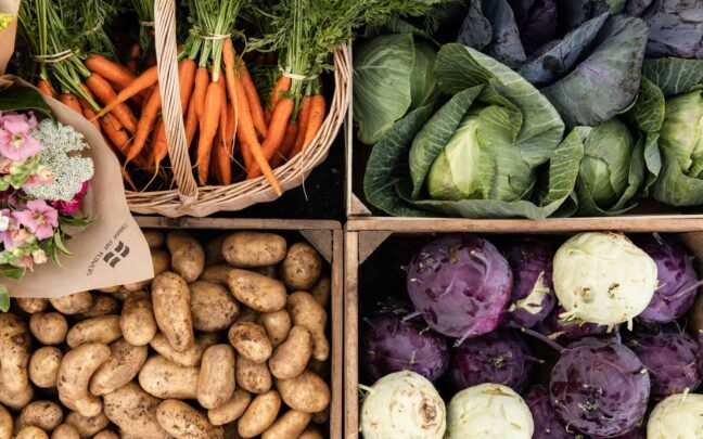 Bailey country store farm shop. Fresh local food delivered every day