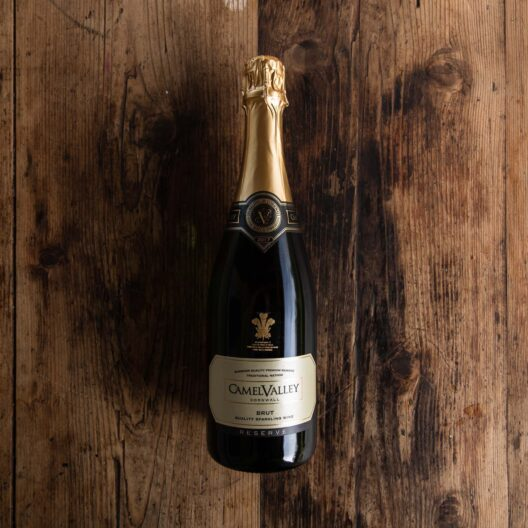 camel valley Cornish Brut