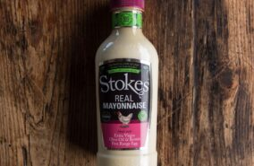 stokes real mayonaise in a squeezy bottle