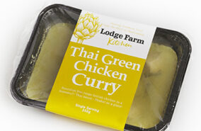 lodge farm Thai green chicken curry
