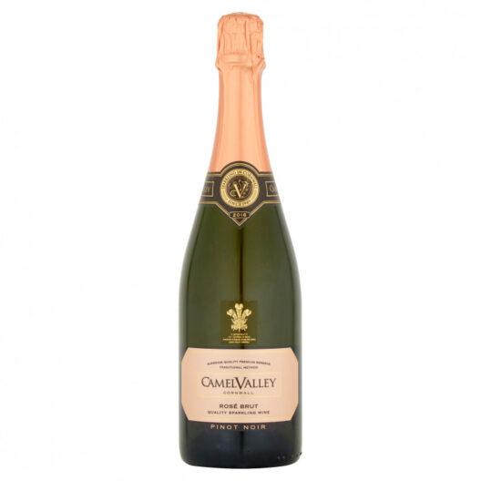 camel valley english sparkling rose wine
