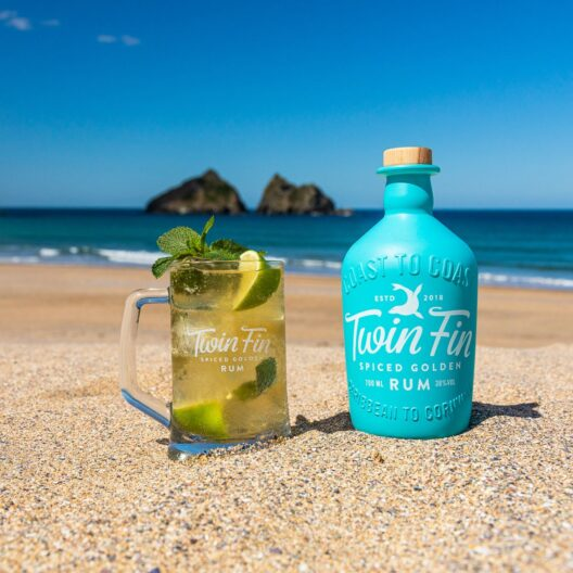 twin fin Golden spiced rum