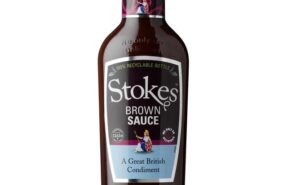 Stokes Brown sauce sold at baileys country sauce