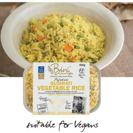 Bini Gujarati vegatble rice