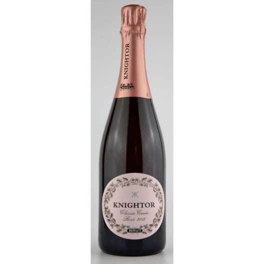 Knightor english rose sparkling wine