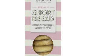 Simply Cornish Strawberry and clotted cream short bread