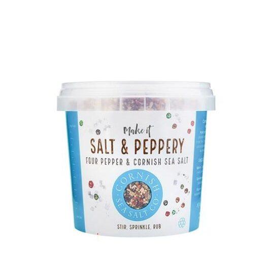 Cornish sea salt and peppery