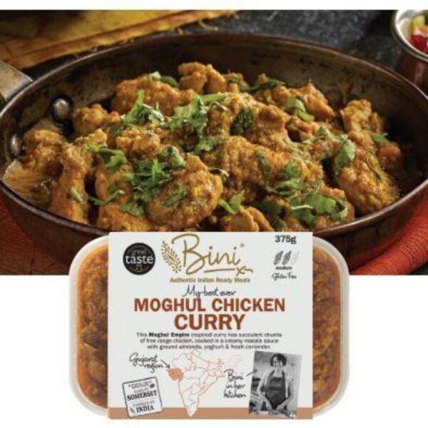 Bini's moghul chicken curry