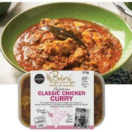 bini's classic chicken curry web