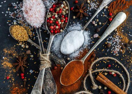 Salt, Pepper & Oils