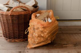 bags of kindling sold at baileys country store penryn