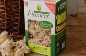 Flamers 50 natural fire lighters sold at baileys country store