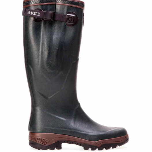 Aigle parcours Vario wellington with polyster lining for quick drying