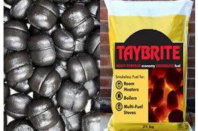 Taybrite smokeless fuel 20kg bag sold at baileys country store