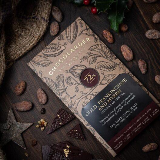 Chocolarder gold frankincense and myrh chocolate