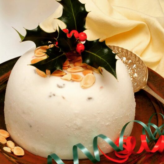 Callestick christmas pudding