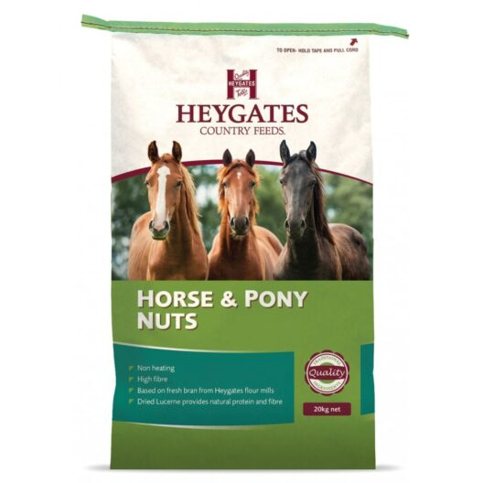 heygates horse and pony nuts