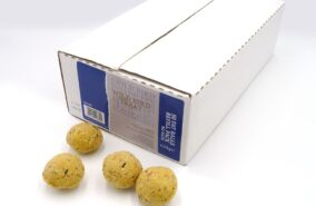 Fat balls for wild birds sold individually or in boxes of 50