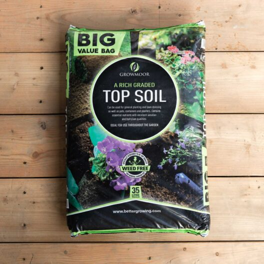 Growmoor top soil delivered locally to our store in penryn cornwall
