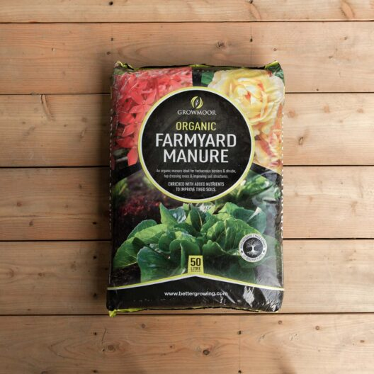 Growmoor organic farmyard manure