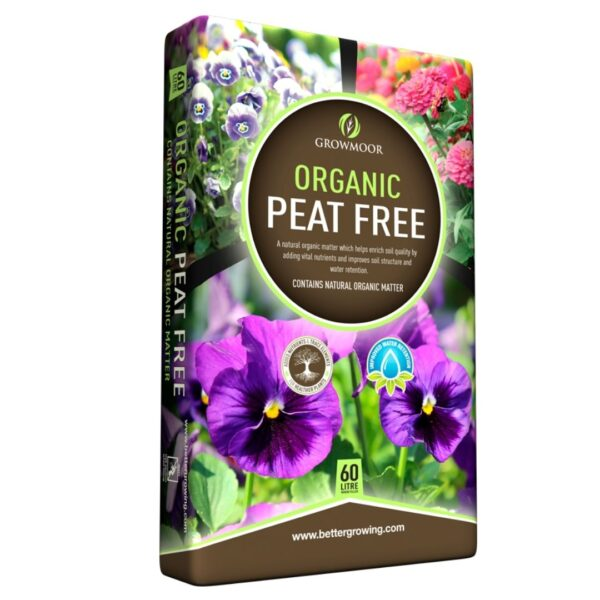 growmoor organic peat free compost sold at baileys country store