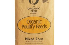 organic mixed poultry corn