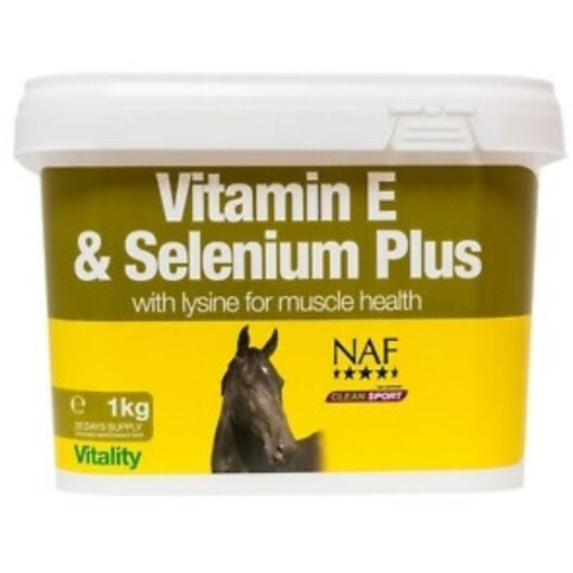 NAF vitmain E and Selenium Plus