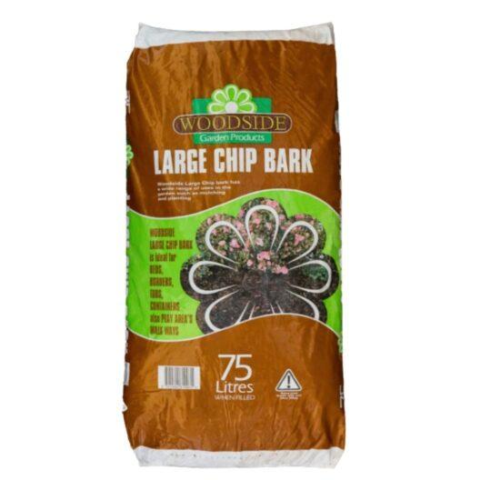 Large chip bark chip
