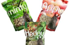 Variety of NAF natural treats