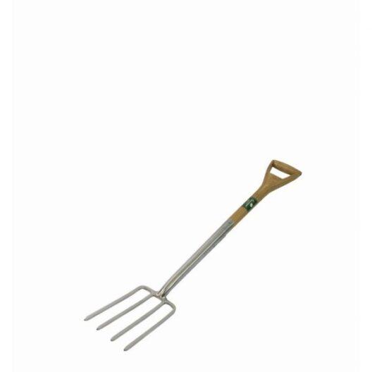 Greenman stainless steel border fork
