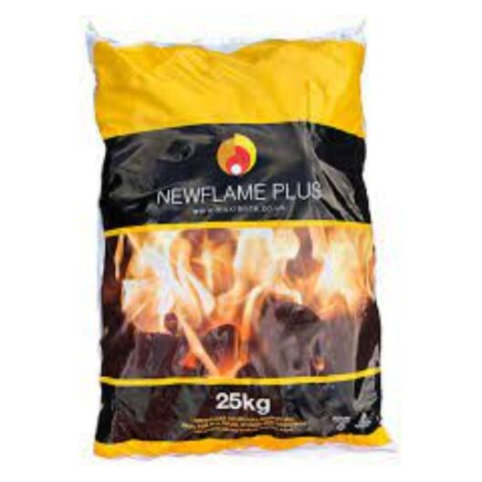 New Flame 20kg bags sold at baileys country store in penryn.