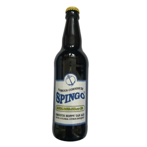 Spingo Ales Flora Daze sold at baileys country store